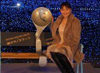 東京ミッドタウンで行なわれたクリスマスイルミネーション点灯式に参加した長澤まさみ。(C)ORICON DD inc