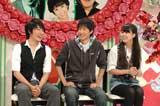 (左より)シンガーソングライター・前川紘毅、俳優・布川隼汰、女優・穂のか