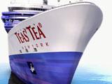 『TEAS'TEA チャイミルクティー』新CMで水川あさみが乗船する豪華客船