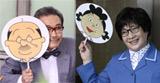 実写版『サザエさん』に出演する加藤みどり(右)と永井一郎 (C)フジテレビジョン