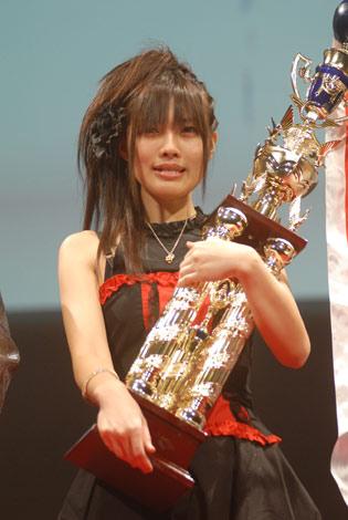 第3回全日本アニソングランプリでグランプリを獲得した瞬間の写真