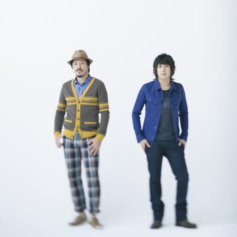 サムネイル スキマスイッチの常田真太郎と大橋卓弥(右)
