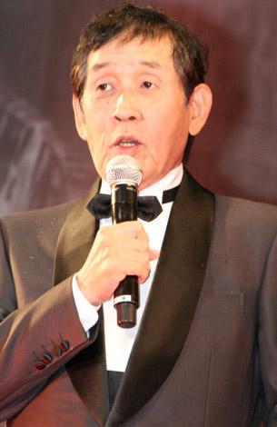 映画『2012』のジャパンプレミアイベントに出席した萩本欽一 (C)ORICON DD inc.