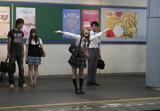 【3位】「駅での投げキッス」(C)2009「天使の恋」製作委員会