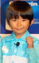 大幸薬品『クレベリン ゲル』新CM発表会見に出席した加藤清史郎 (C)ORICON DD inc.