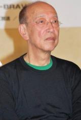 舞台『血は立ったまま眠っている』製作発表会見に出席した蜷川幸雄氏 (C)ORICON DD inc.