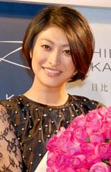 『バラのように美しく、人々を魅了する女性賞』を受賞した山田優 (C)ORICON DD inc.