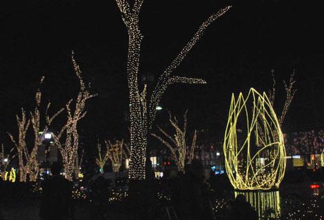 サムネイル 11年ぶりに復活した表参道のイルミネーション点灯式に近藤真彦が出席 (C)ORICON DD inc.