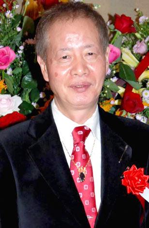 アントニオ・古賀の芸能生活50周年記念パーティに出席した角川春樹氏 (C)ORICON DD inc.