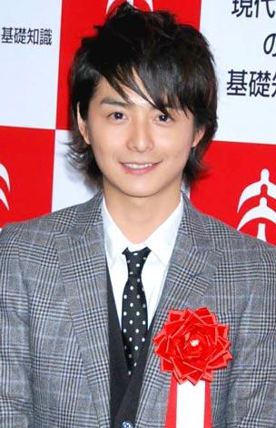 「草食男子」が『2009 ユーキャン新語・流行語大賞』にTOP10入りし、授賞式に出席した小池徹平 (C)ORICON DD inc.