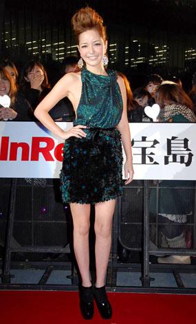 『日本ファッションリーダーアワード2009』を受賞した梨花 (C)ORICON DD inc.