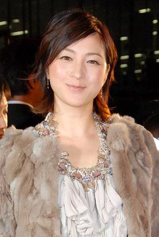 『日本ファッションリーダーアワード2009』を受賞した広末涼子 (C)ORICON DD inc.