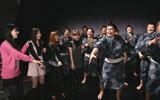 モーニング娘。のメンバーが応援に駆けつけた撮影の模様/『太麺堂々』(日清食品)新CM
