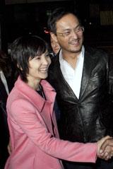 渡辺謙、南果歩夫妻。2人でレッドカーペットイベントに出席するのは「あんまりない」