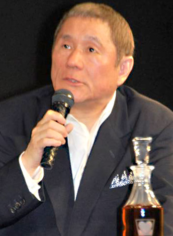 第1回『WHISKY LOVERS AWARD 2009』授賞式に出席した北野武 (C)ORICON DD inc.