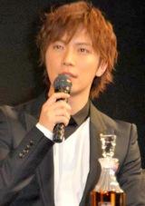 第1回『WHISKY LOVERS AWARD 2009』授賞式に出席した成宮寛貴 (C)ORICON DD inc.