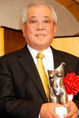 『ゆうもあ大賞』を受賞した野村克也氏