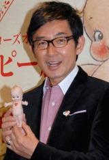 『誕生100年 ローズオニールキューピー展』に訪れた石田純一 (C)ORICON DD inc.