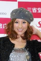 妊娠を発表して以来初めての公の場となった小畑由香里(C)ORICON DD inc.