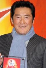 映画『ボルト』のブルーレイ・DVD発売記念イベントに出席した松方弘樹 (C)ORICON DD inc.