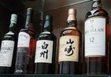 『山崎』、『白州』など、サントリーが展開しているシングルモルトウイスキー