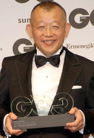 『GQ Men of the Year 2009』を受賞した笑福亭鶴瓶 (C)ORICON DD inc.
