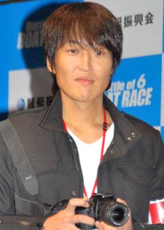 『2010 BOAT RACE』新CM発表会に出席した千原ジュニア (C)ORICON DD inc.