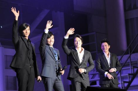 韓国俳優4大スターが揃い踏み