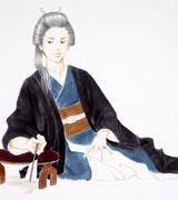 柴咲コウ演じる吉宗の原画 (c)よしながふみ/白泉社