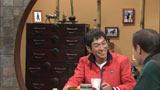 関西テレビ『さんま・清の夢競馬』で愛娘IMALUの写真をバックに思いを語るさんま
