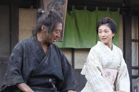 NHK大河ドラマ『龍馬伝』で平井加尾演じる広末涼子と岩崎弥太郎役の香川照之