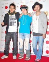 『第60回NHK紅白歌合戦』のリハーサルに臨んだFUNKY MONKEY BABYS (左からファンキー加藤、DJケミカル、モン吉)