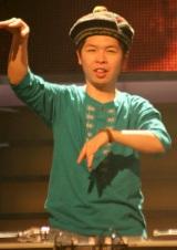 『第60回NHK紅白歌合戦』のリハーサルを行ったFUNKY MONKEY BABYSのDJケミカル (C)ORICON DD inc.