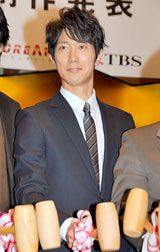 ドラマ『ハンチョウ〜神南署安積班』シリーズ2(TBS系)の制作発表会見に出席した佐々木蔵之介