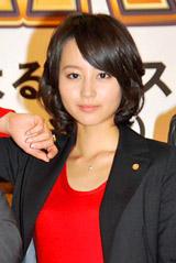 TBS日曜劇場『特上カバチ!!』制作発表記者会見に出席した堀北真希