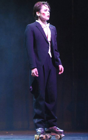ミュージカル『キャバレー』の公開ゲネプロを行った諸星和己 (C)ORICON DD inc.