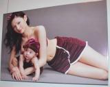 写真展『Glamorous Mama グラマラス・ママ〜美しき12人の愛のかたち〜』で子供との同伴ショットを披露したリア・ディゾン (C)ORICON DD inc.