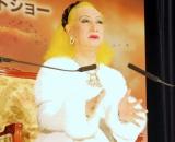 映画『ラブリーボーン』の試写会イベントに出席した美輪明宏 (C)ORICON DD inc.