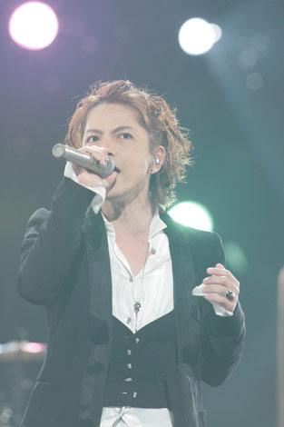NHKのバンクーバーオリンピックテーマソング オフィシャル映像収録を行ったラルク アン シエル・hyde