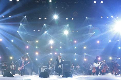 NHKのバンクーバーオリンピックテーマソング オフィシャル映像収録を行ったラルク アン シエル