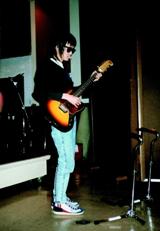 1989年、ロスでレコーディング中の忌野清志郎さん