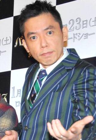 映画『Dr.パルナサスの鏡』のジャパンプレミアで、映画監督業に意欲を燃やした爆笑問題の太田光 (C)ORICON DD inc.