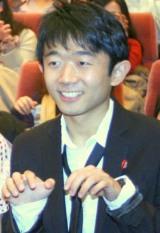 映画『秘密結社 鷹の爪 THE MOVIE 3〜http://鷹の爪.jpは永遠に〜』のヒット祈願試写会にゲスト出演したえなりかずき (C)ORICON DD inc.