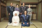 堺雅人と仲間由紀恵が演じる夫婦の婚礼シーンの撮影が行われた(映画『武士の家計簿』より)
