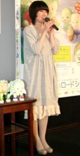 ナレーションを務める3D映画『やさいのようせい/N.Y.SALAD』試写会に出席した原田知世 (C)ORICON DD inc.