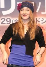 主演映画『ラブリーボーン』公開に先駆け、15歳の女優シアーシャ・ローナンが初来日 (C)ORICON DD inc.