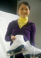 Metisの新曲「キミに出会えてよかった」ミュージックビデオに友情出演する鈴木明子選手のオフショット