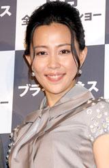 画『ブラインドネス』の完成披露舞台あいさつに出席した木村佳乃