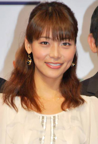 初挑戦となる舞台『THE LEFT STUFF』製作発表会見に出席した相武紗季 (C)ORICON DD inc.