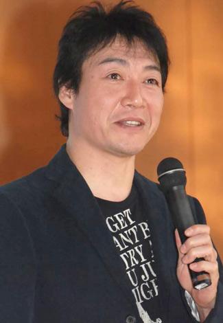 舞台『象』の制作発表会見に主席した羽場裕一 (C)ORICON DD inc.